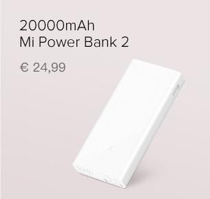 20000mAh Mi Power Bank 2C Blanco