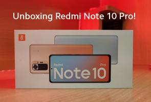 Unboxing Redmi Note 10 Pro!