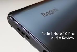 Redmi Note 10 Pro Audio Review