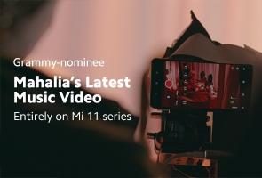 Mahalia's music video shot on Mi 11 Series