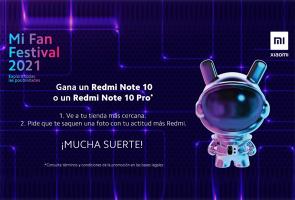 Gana serie Redmi Note 10 para Mi Fan Festival