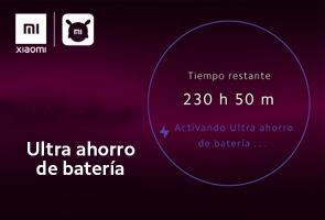 Modo Ultra Ahorro de Batería