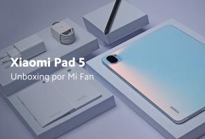 Xiaomi Pad 5 - Unboxing por Mi Fan