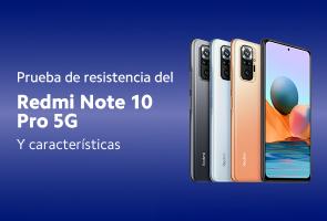Prueba de resistencia Redmi Note 10 Pro 5G