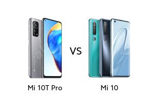 Mi 10T Pro vs Mi 10