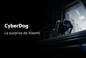 CyberDog, la surprise de Xiaomi !
