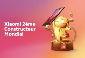 Xiaomi 2ème constructeur mondial