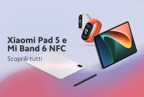 Xiaomi presenta Xiaomi Pad 5 e Mi Band 6 NFC