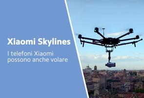 Mi 11 su un drone