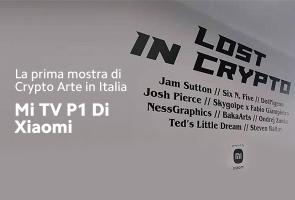 Mostra di Crypto Arte sui Mi TV P1