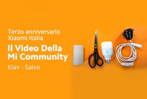 3° Anniversario Xiaomi Italia