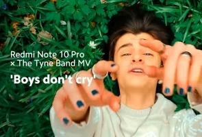 The Tyne Band MV 'Boys don't cry'