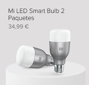 Mi LED Smart Bulb 2 Paquetes
