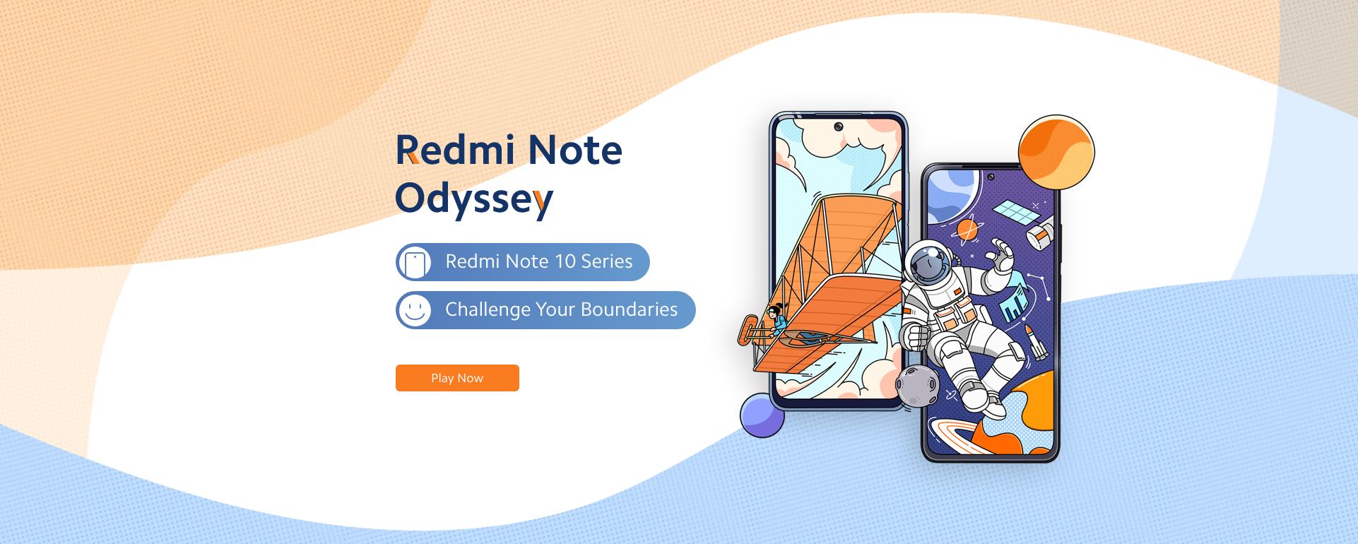 Redmi note Odyssey