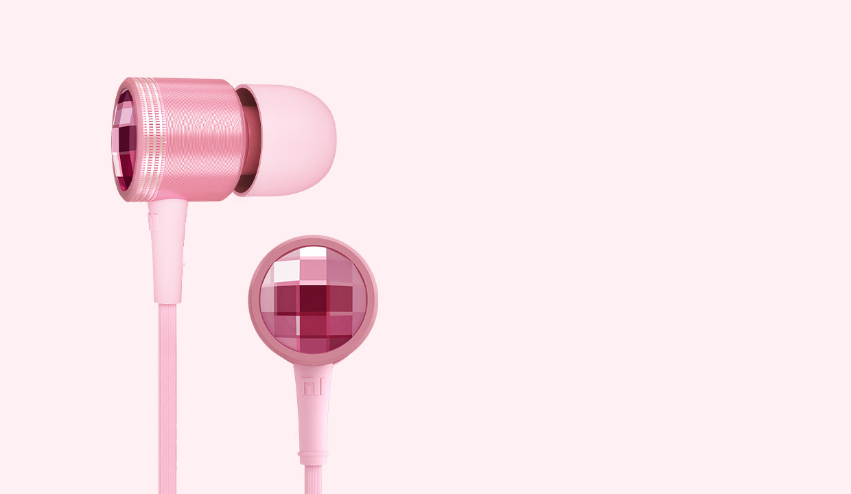Mi In-Ear Headphones Crystal Pink | Crystal Silver | Rose Gold | Silver