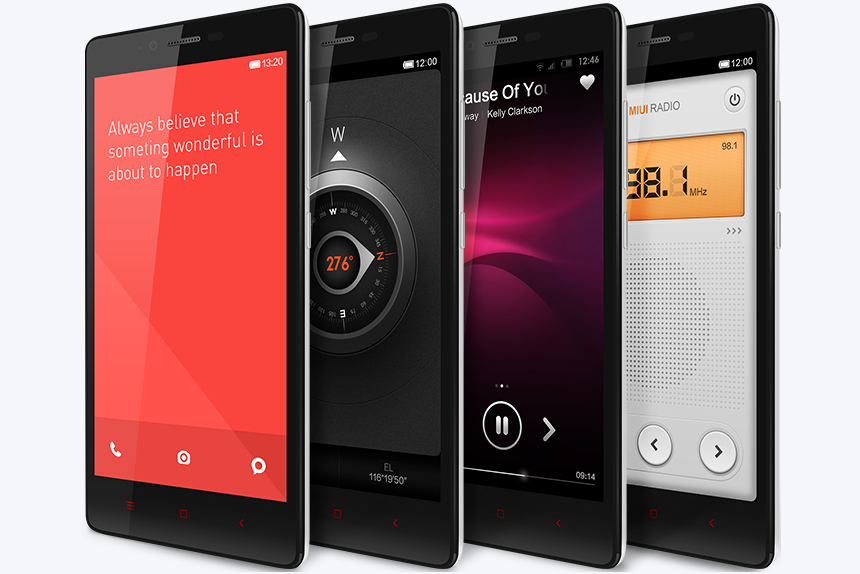 Redmi Note 4G Snapdragon 400 MSM8928 1.6GHz 4コア