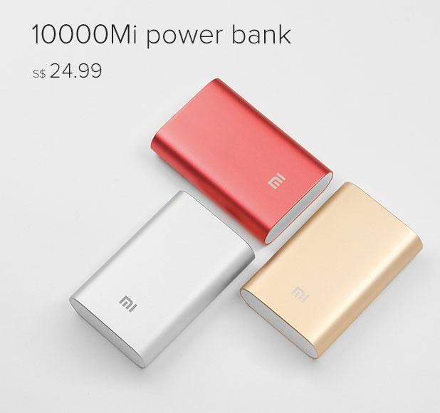 Mi Power Bank 10000mAh Red Red