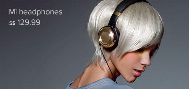 Mi Headphones Black
