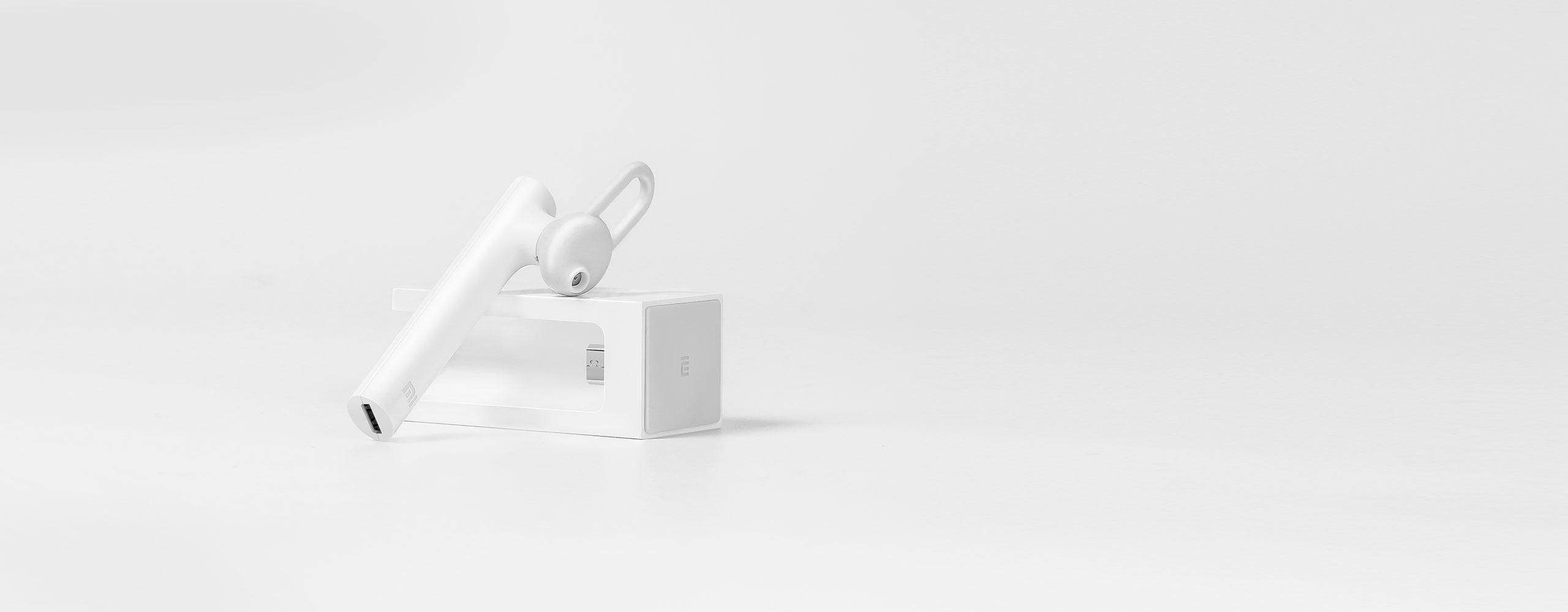 Mi Bluetooth Headset Wireless Earpiece Earphones With Mic Charging Dock Black Xiaomi United States