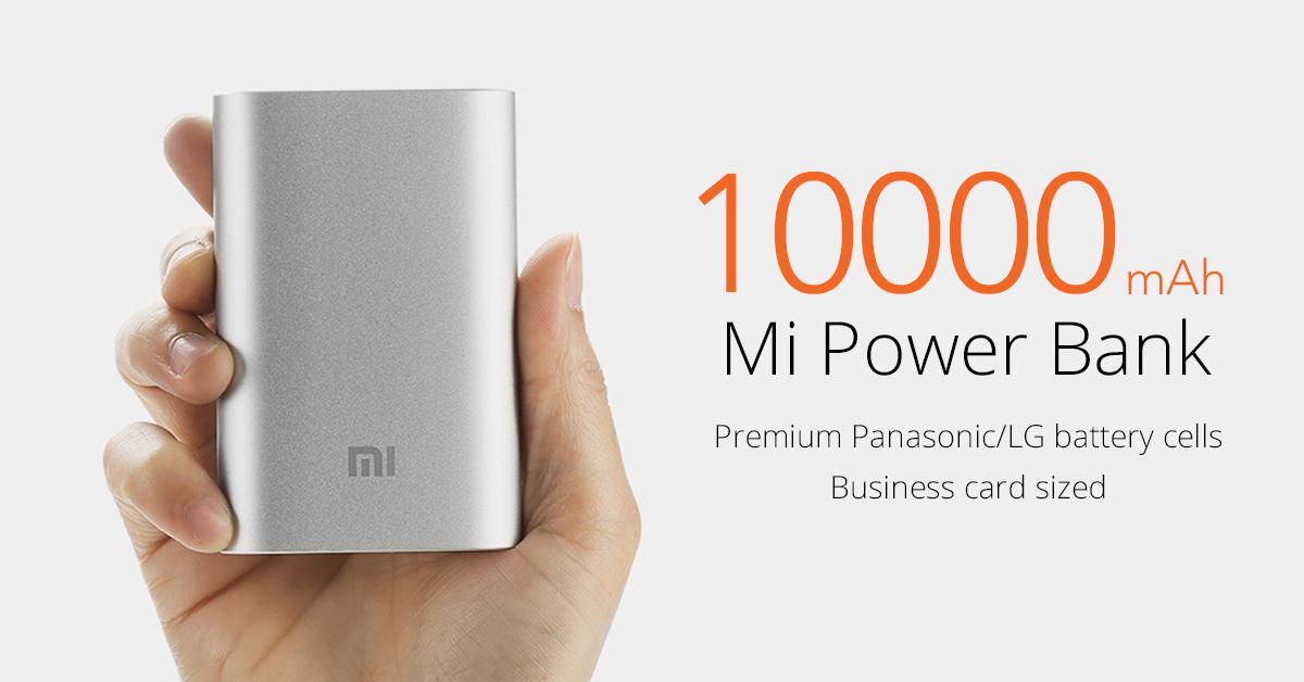 Mi Power Bank 10000mah Mi Singapore