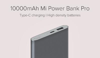 10000mAh Mi Power Bank Pro