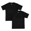 Mi Organic Solid T-Shirt Black Combo