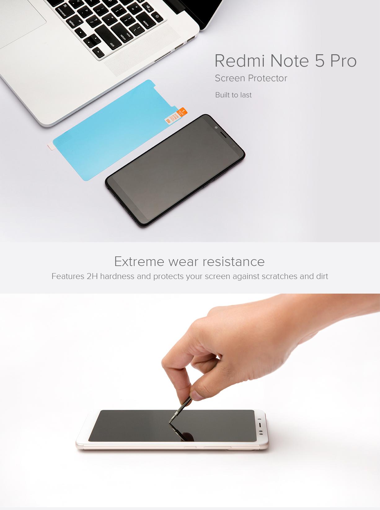 Redmi Note 5 Pro Screen Protector - Cases & Protectors