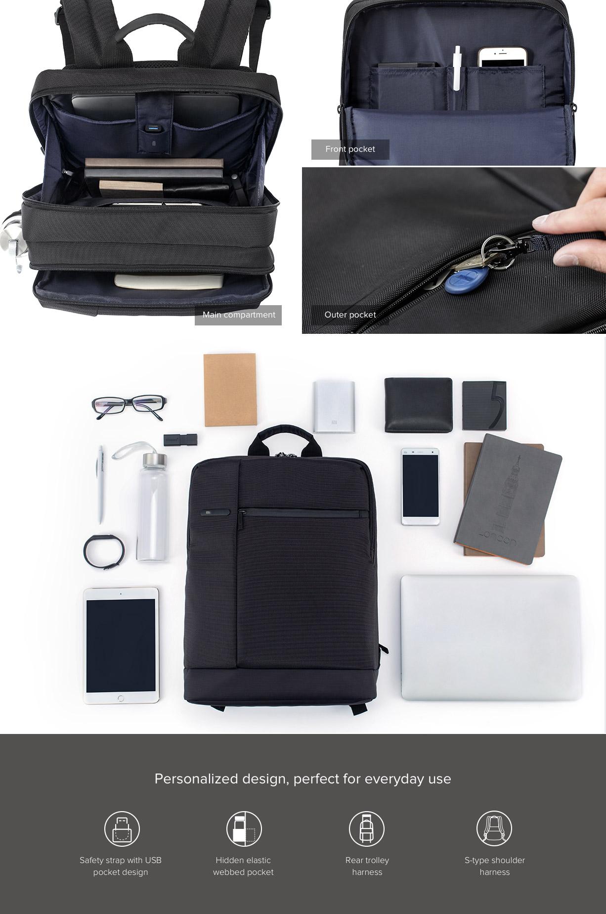 Mi Business Backpack Backpacks Mi India