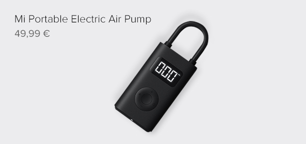 Mi Portable Electric Air Pump