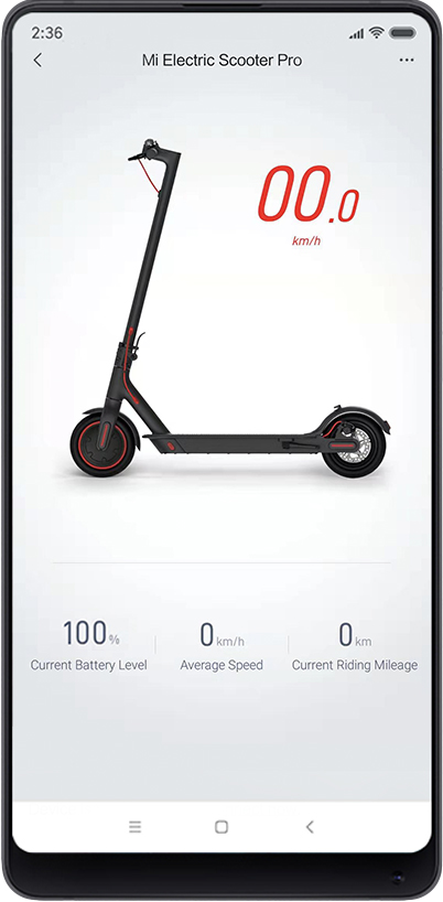 Image result for Mi Electric Scooter Pro app