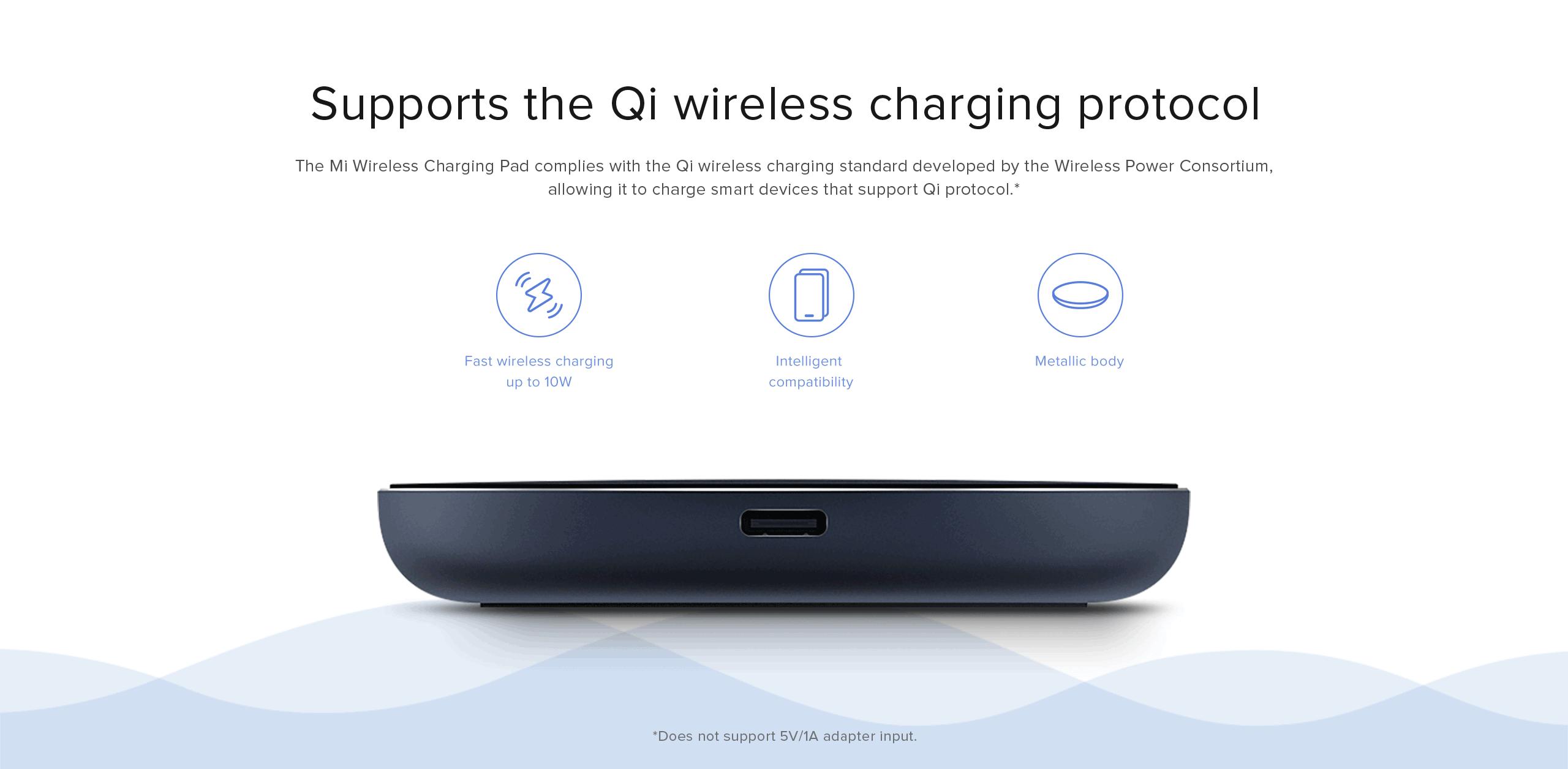 xiaomi mi wireless charing pad charger - Xiaomi United States