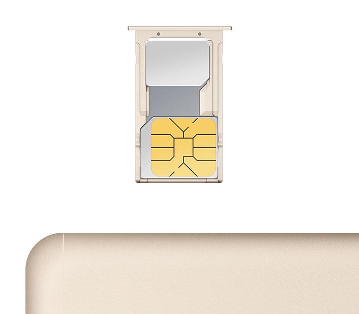 Dual SIM slot 3-choose-2