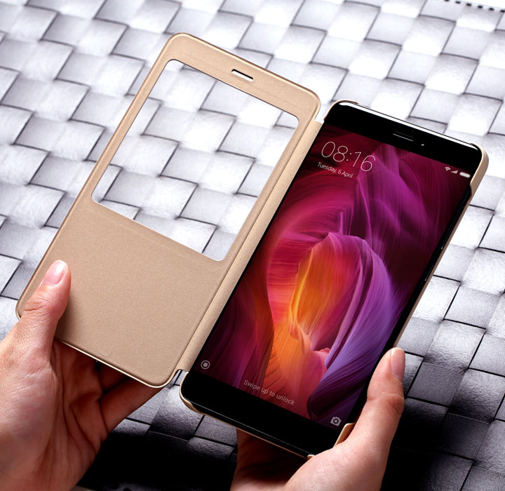 Redmi Note 4 Smart View Flip Case
