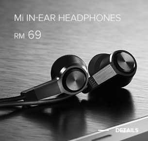 Mi In-Ear Headphones Dark Grey