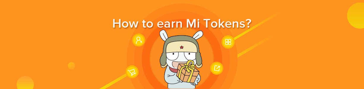 How to earn Mi Tokens?
