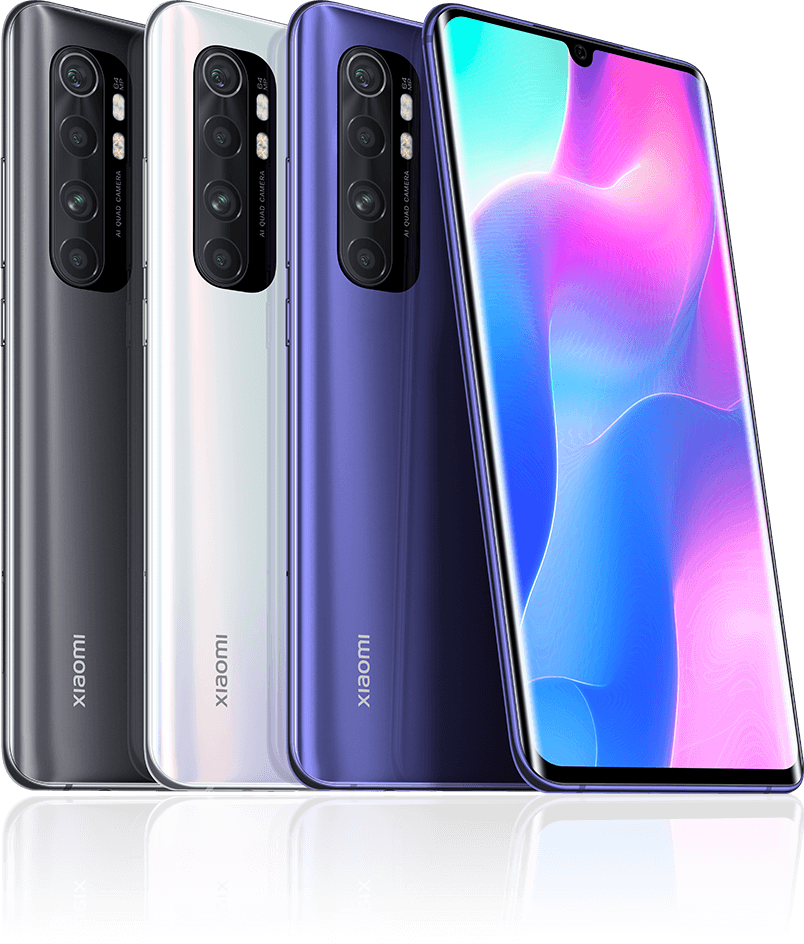 MI note 10 lite colors