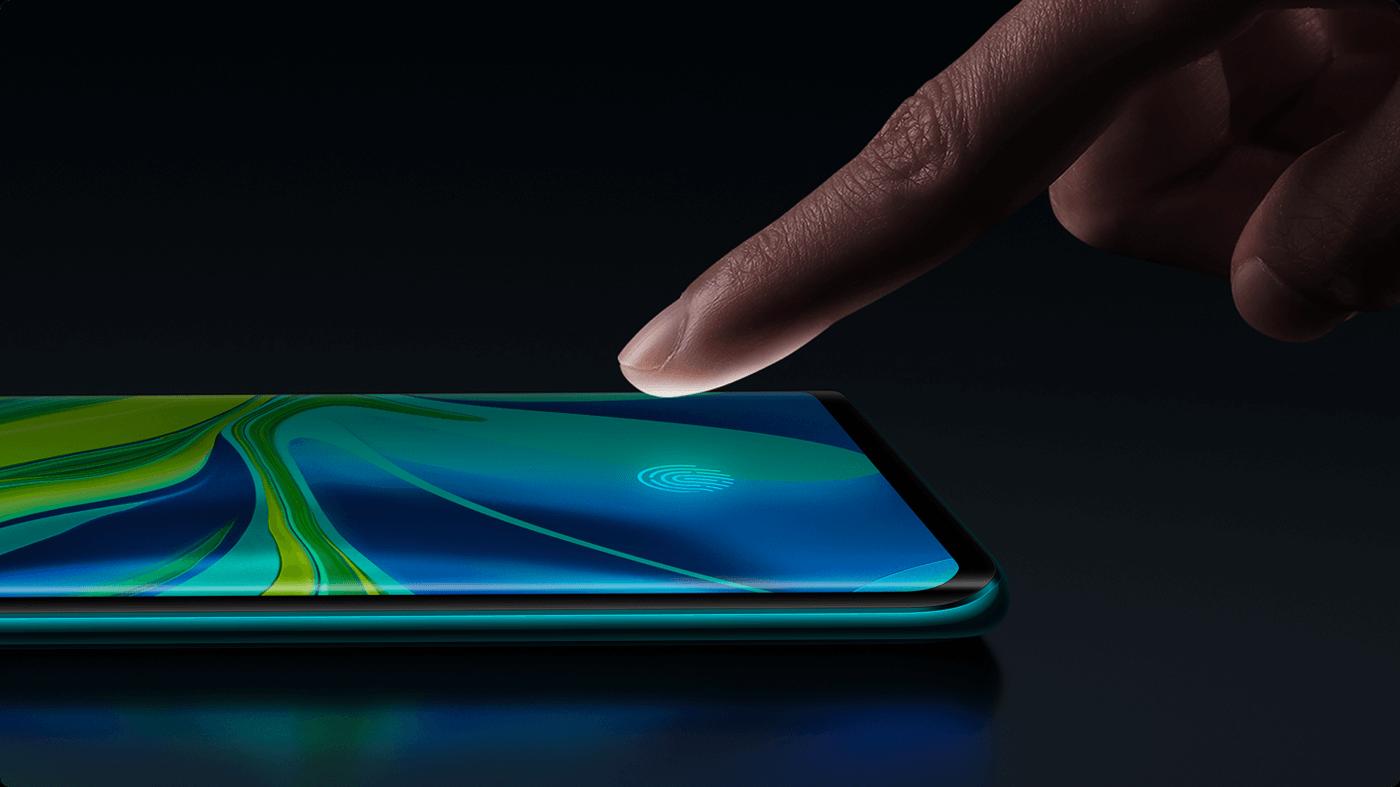 Sensor sidik jari (mi.com)