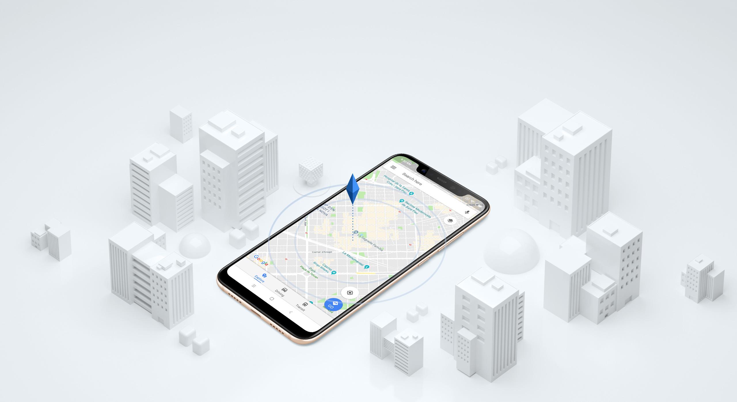 Xiaomi Mi 8 GPS