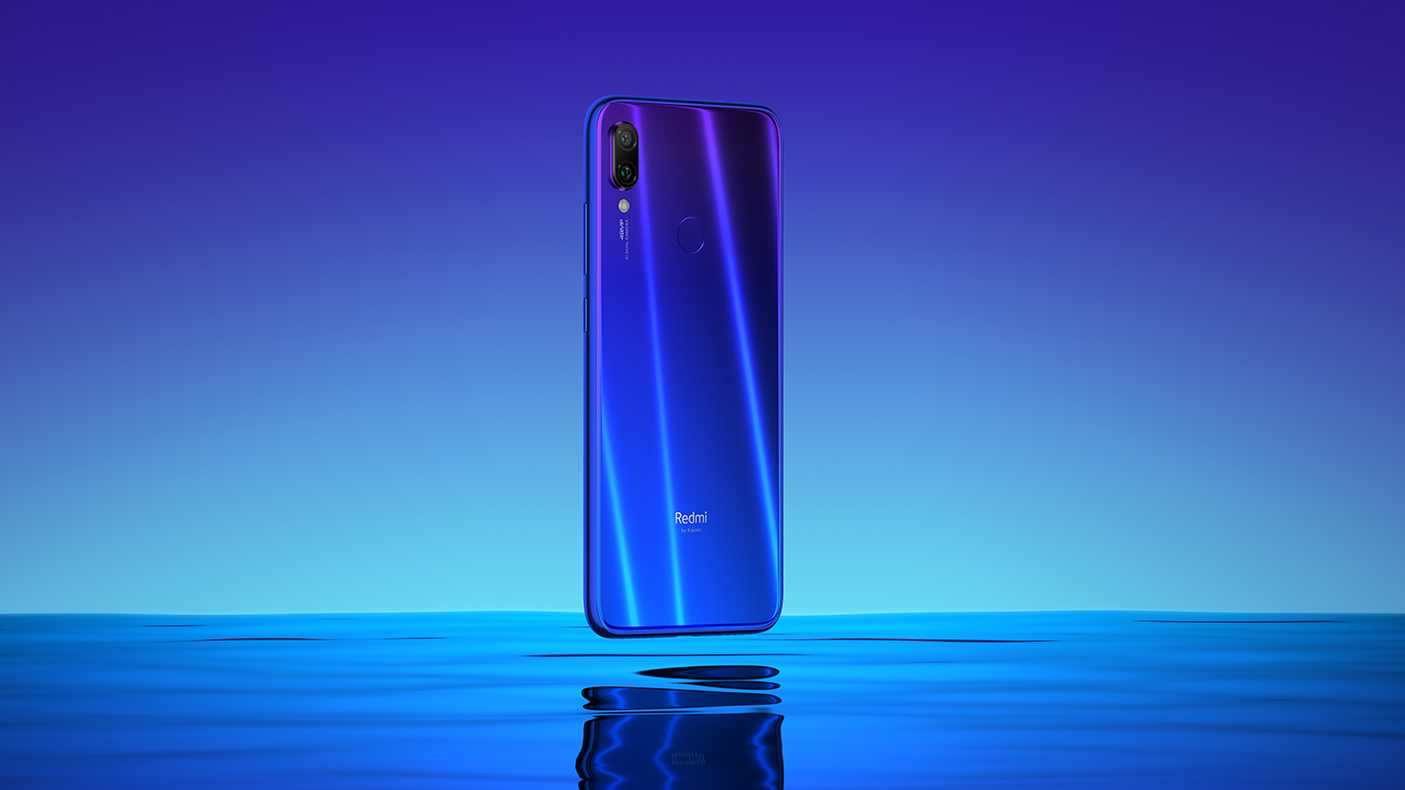Redmi Note 7 in Neptune Blue