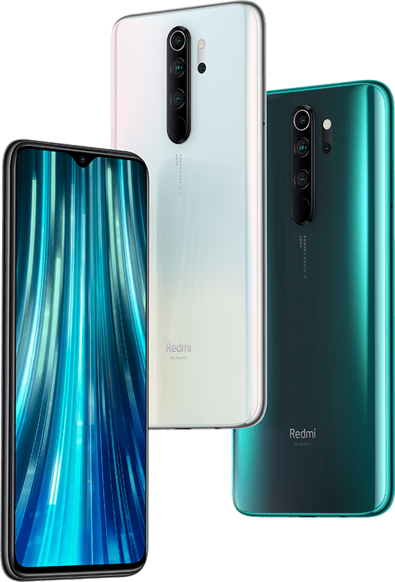 Redmi Note 8 Pro- colors available