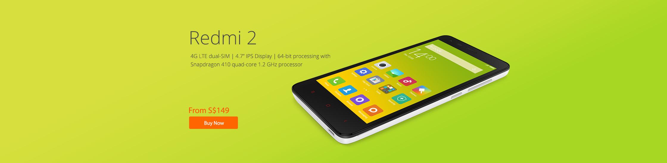 Redmi 2 - Buy Now