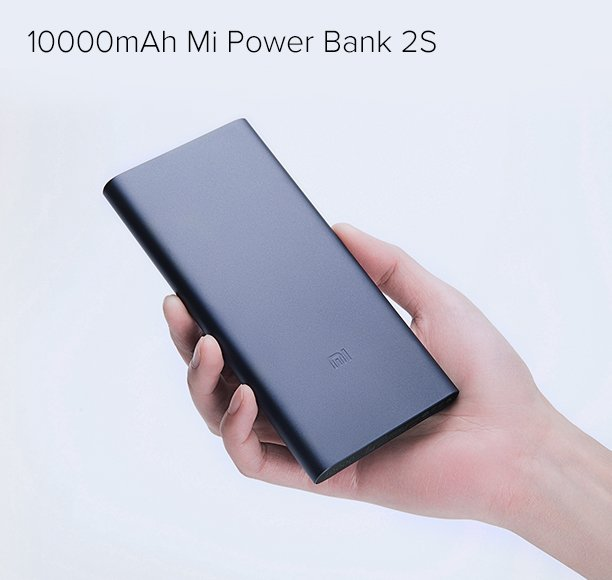 10000mAh Mi Power Bank 2S