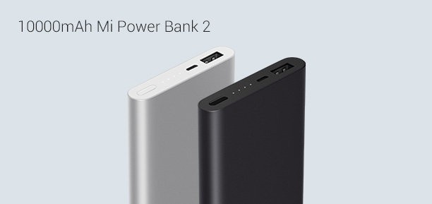 10000 mAh Mi Power Bank 2
