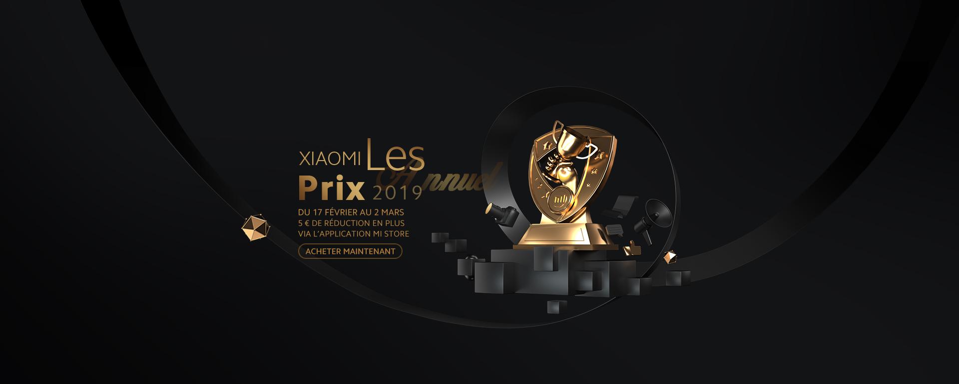 Xiaomi Les Prix Annuel 2019