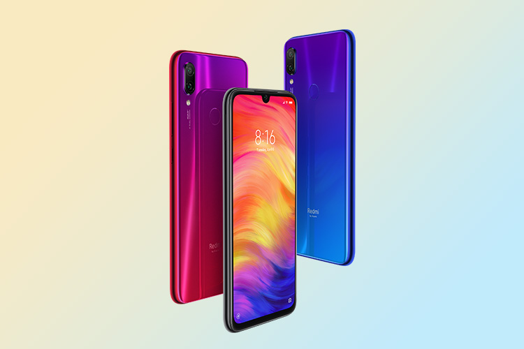 Redmi Note 7 <br> 3 GB+32 GB