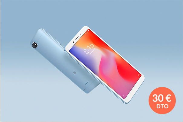 Redmi 6A Black 2GB+16GB