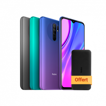 Redmi 9 <br>4 GB + 64 GB