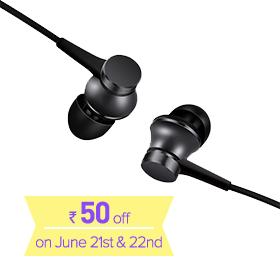 Mi In-Ear Headphones Basic Matte Black