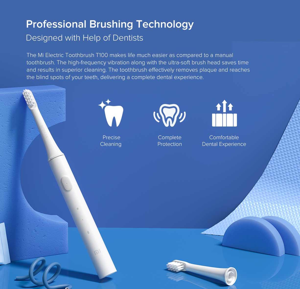 Xiaomi Mijia T100 Mi Smart Electric Toothbrush 6