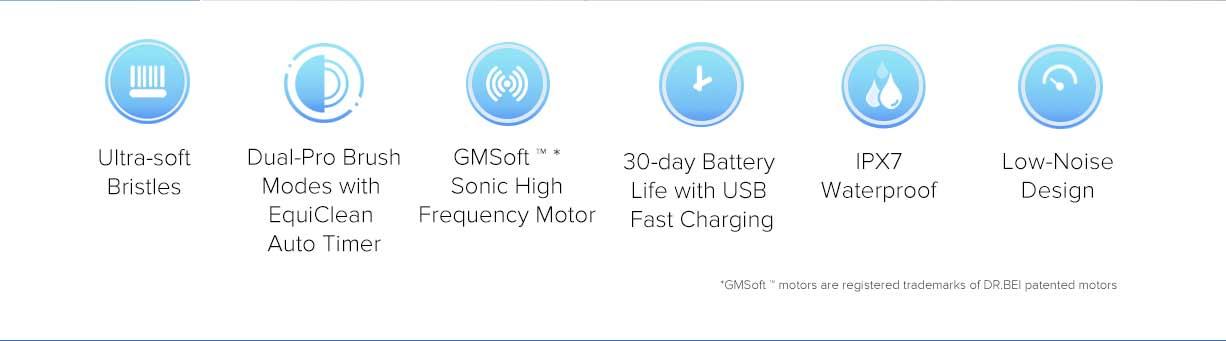 Xiaomi Mijia T100 Mi Smart Electric Toothbrush 5